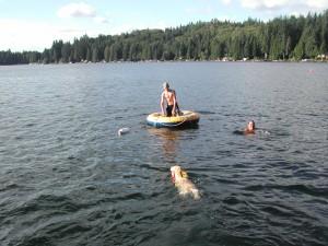 Cory Swimming 2